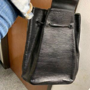 Black Epi Noir Sac Sling Backpack
